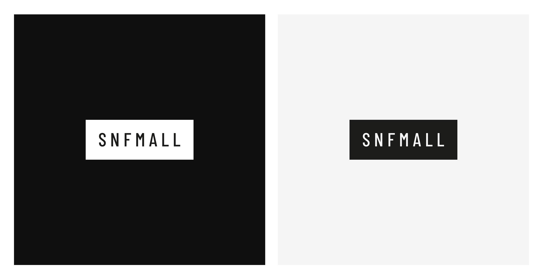 snf Mall Logo und Website Screendesigns – Logos