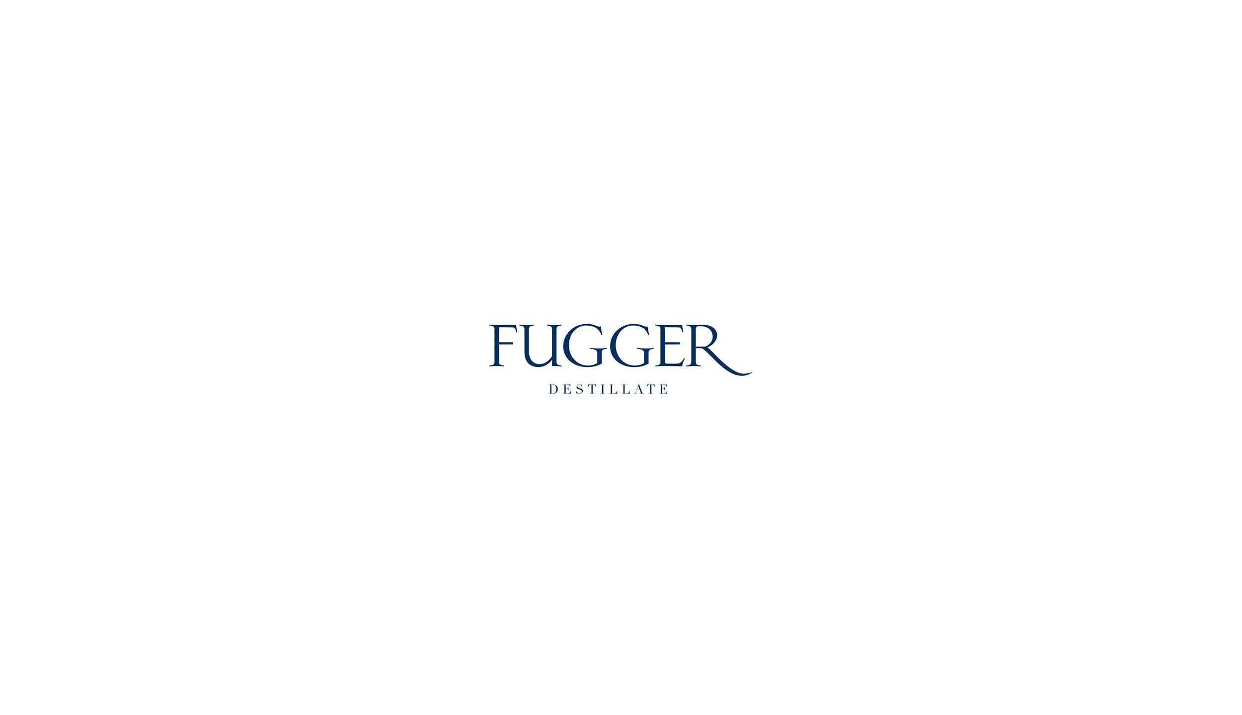 fugger destillate augsburg label design spirituosen blockundstift logo