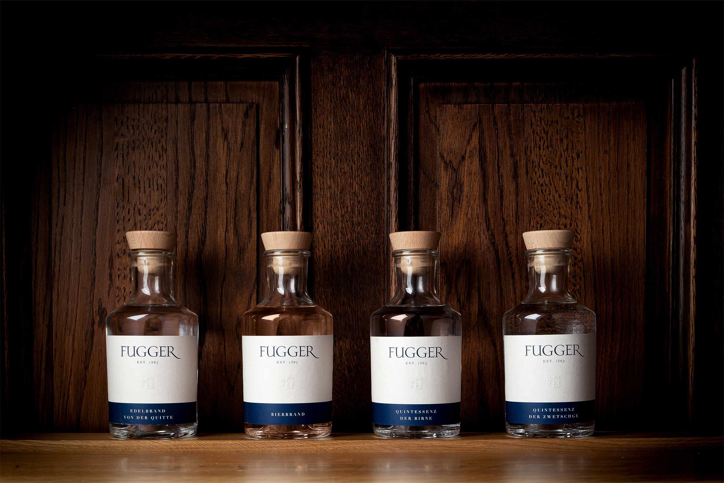 fugger destillate augsburg label design spirituosen blockundstift produkte portfolio