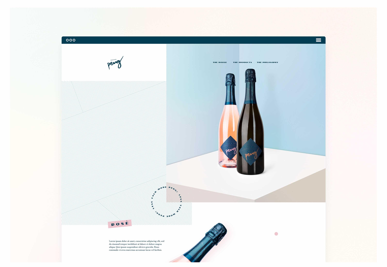 08-maison-peng-cremant-de-loire-brut-rose-packaging-design-label-branding-corporate-design-website-landingpage