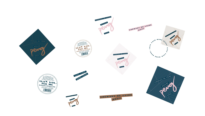 13-maison-peng-cremant-de-loire-brut-rose-packaging-design-label-branding-corporate-design-website-labels-badge-assets