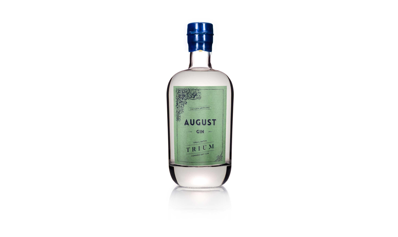 AUGUST Gin Trium – Design & Label