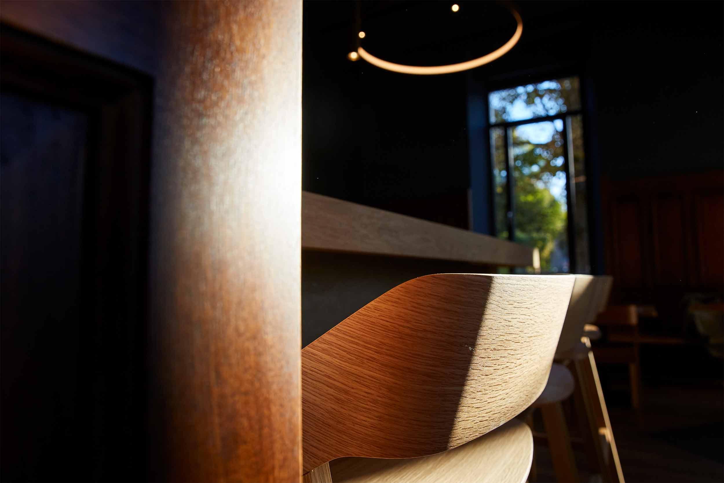 Blaue Kappe Essen und Trinken Augsburg Corporate Design und Website – Detailaufnahme