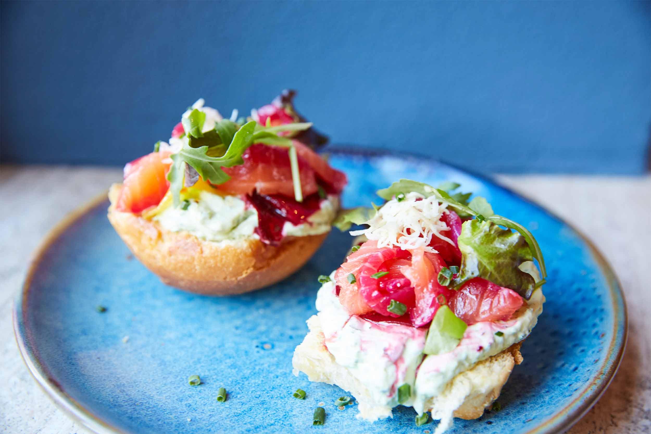 Blaue Kappe Essen und Trinken Augsburg Corporate Design und Website – Frühstück