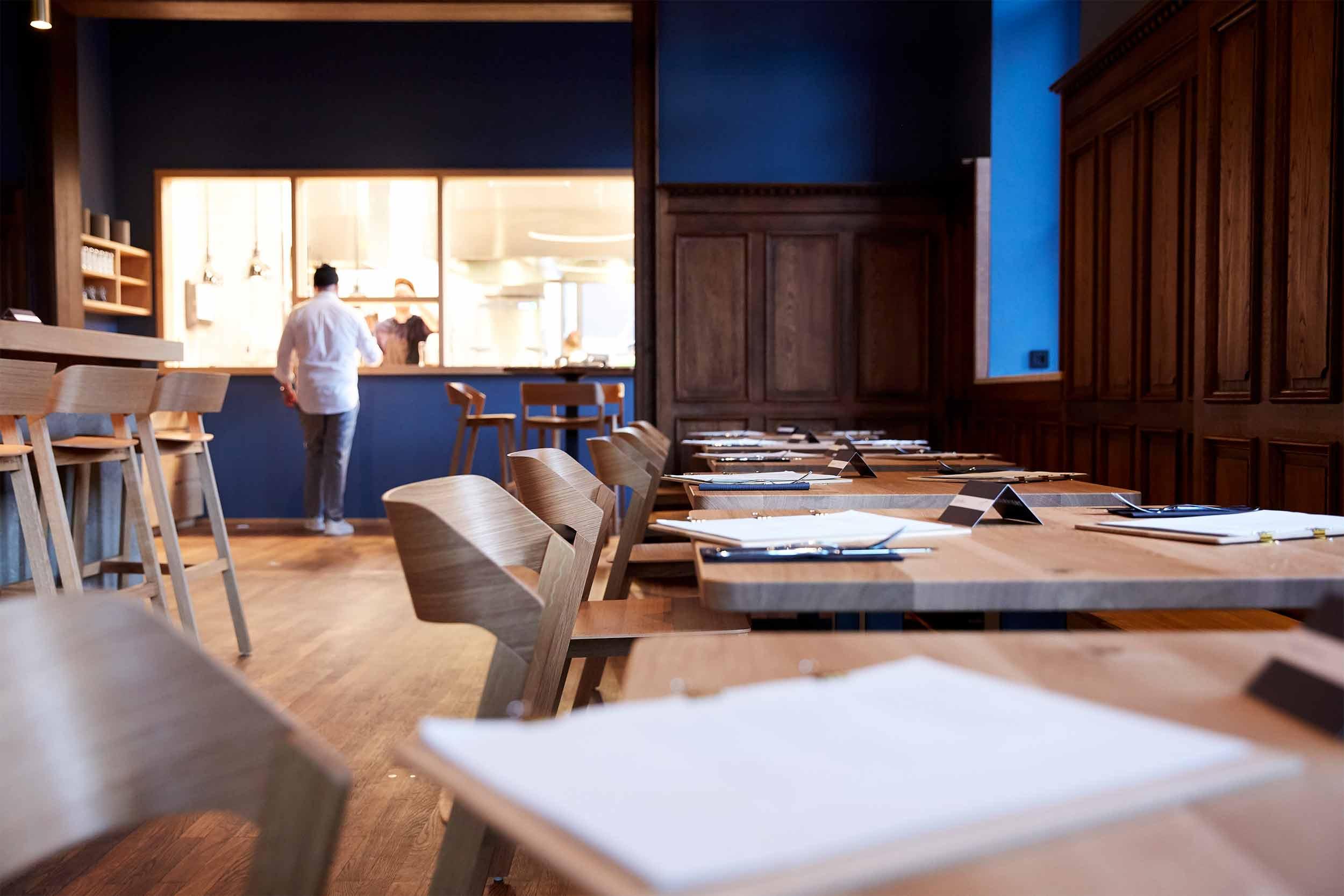 Blaue Kappe Essen und Trinken Augsburg Corporate Design und Website – Speisekarten