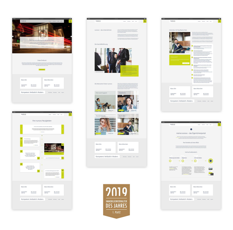 nunovo-immobilienverwaltung-ulm-muenchen-design-website-webdesign-logo-corporate-blockundstift-2-auszeichnung